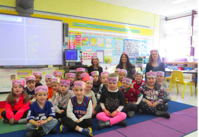 Yorktown schools celebrated the 100th day of school.