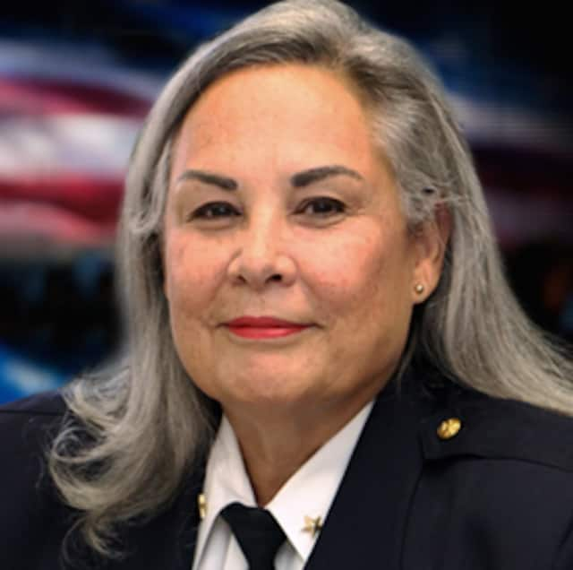 Newly-appointed White Plains Police Chief Anne Fitzsimmons became the city's first female chief on Monday. She has served as a police officer since 1980, most recently serving as assistant police chief. She is the city's first female police chief.