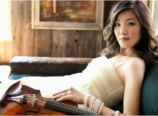 Rachel Lee Priday on violin will be featured March 12 and 13 at the Palace Theatre in Stamford.
