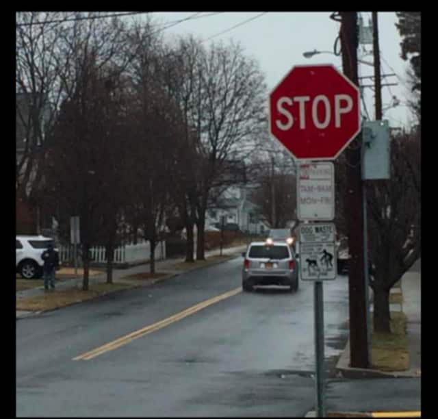 The village of Suffern installed two stop signs on Ramapo Avenue in the area of West Maltbie Avenue.
