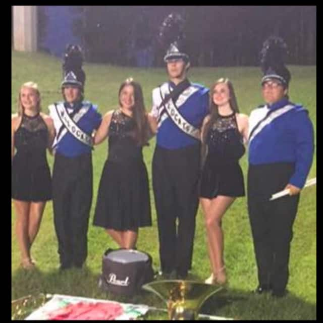 The White Plains High School Band -- the Blue Brigade -- received an overall superior rating and all A's in sight reading.