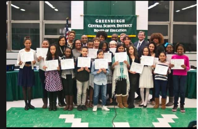 """Greenburgh School District honors students for participating In 'Shrek Jr."""""""