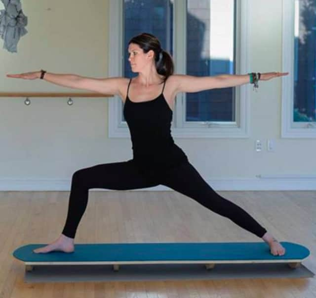 """Test out the waters at """"Surf and Sip"""" yoga in Ramsey."""