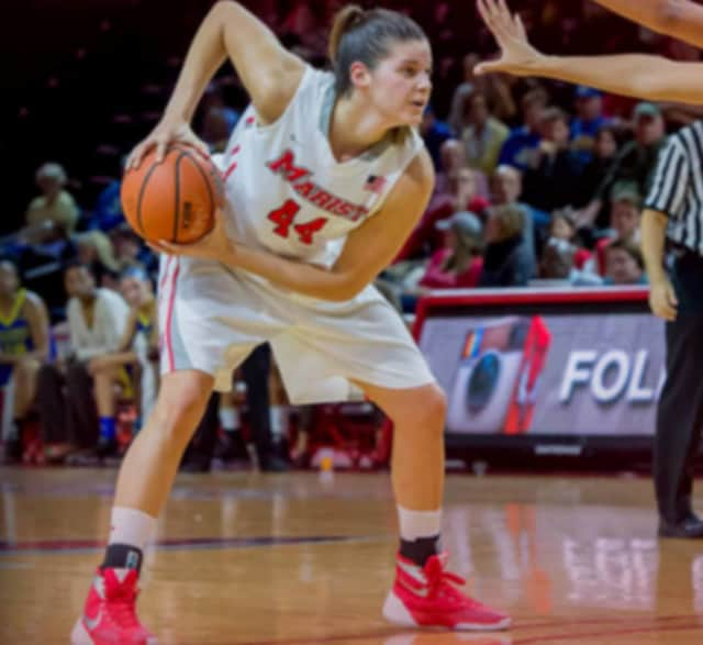 Marist College's Tori Jarosz, a resident of Cortlandt Manor and graduate of Lakeland High School, was named to the All-MAAC women's basketball first team on Monday.