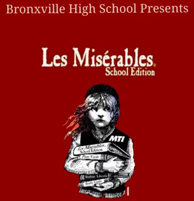 """""""Les Miserables,"""" this year's Bronxville High School musical will run for four performances in the school auditorium."""