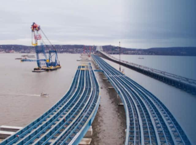 Building the new New York bridge over The Tappan Zee focus of talk in Greenwich.