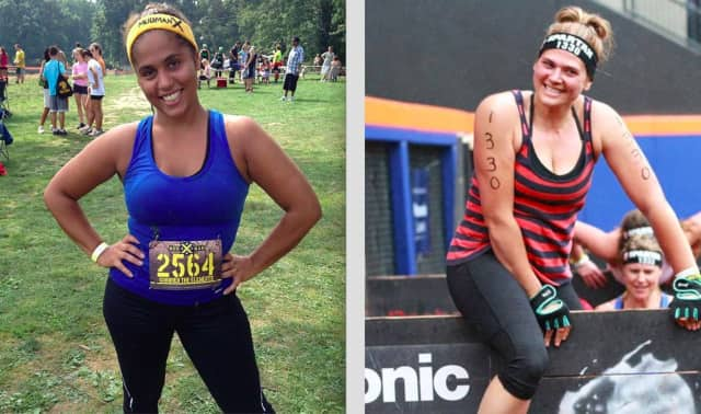 """Claudia Collazo of Teaneck, left, and Giovanna Cicerchia of Wyckoff will compete on NBC's """"Strong."""""""