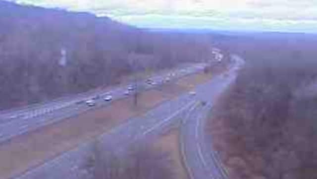 I-684 near the Route 172 Park & Ride in Bedford.