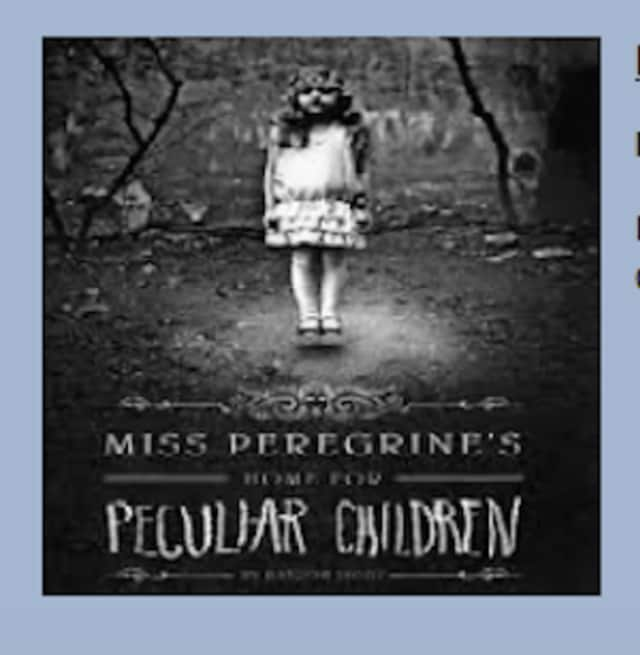 "New Canaan Library's Pizza & Pages discussion group is reading ""Miss Peregrine's Home for Peculiar Children"" by Ransom Rigs this month."