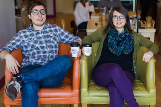 Matthew and Courtney Hartl run Source Coffeehouse in the Black Rock section of Bridgeport.