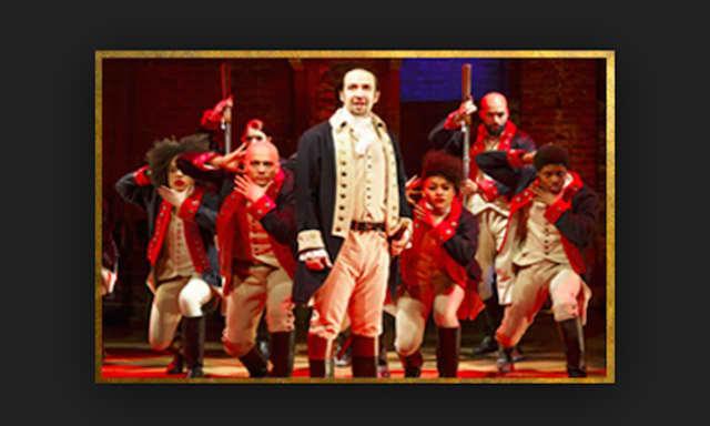 "The Mamaroneck High School junior class saw see ""Hamilton"" on Broadway."