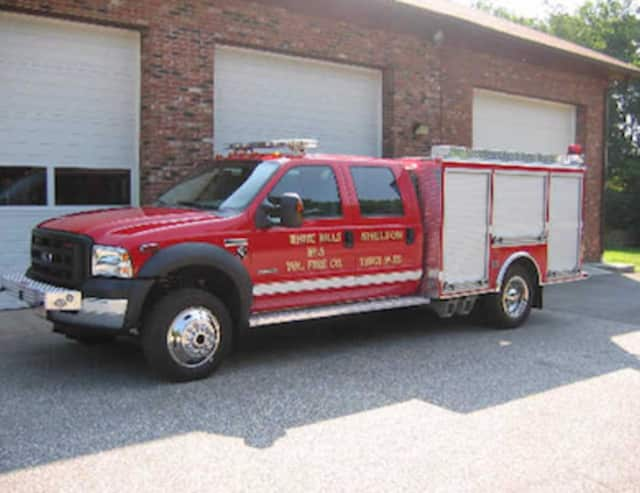 White Hills Voluntary Fire Company 5 of Shelton will be holding its annual Easter Flower Sale March 25 and 26. Items such as Truck 55, (pictured) are among the equipment purchased from the fire company's fundraisers.