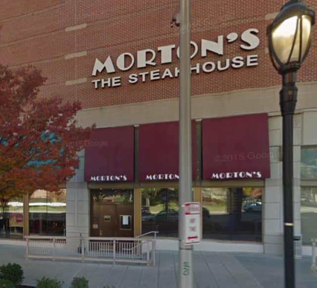 Morton's Steakhouse on Maple Avenue in White Plains.