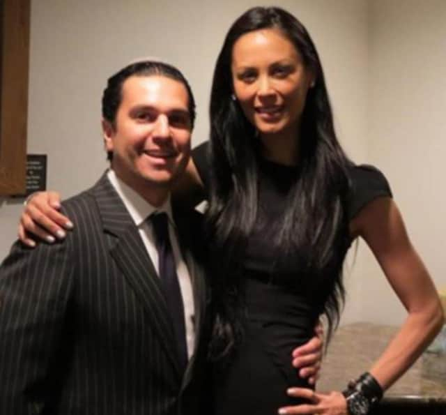 Julianne Wainstein with her husband Michael.