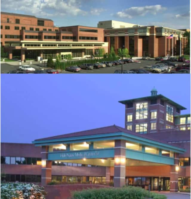Valley Hospital (top) and Holy Name Medical Center (bottom) are combining forces to combat a sometimes deadly intestinal infection.