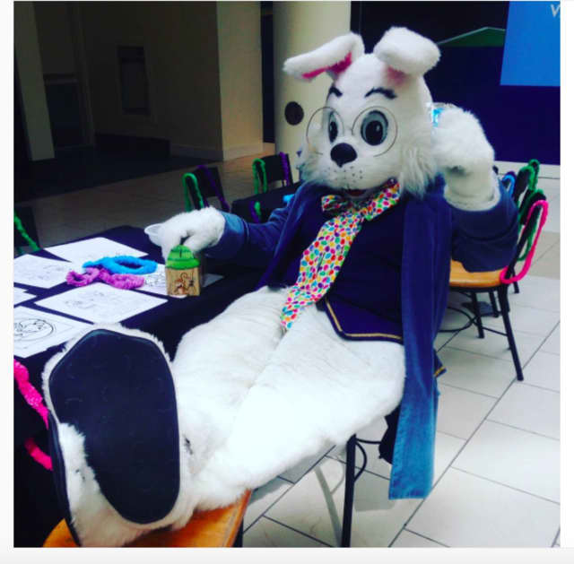 The Jefferson Valley Mall will host a story time with the Easter Bunny on Saturday.