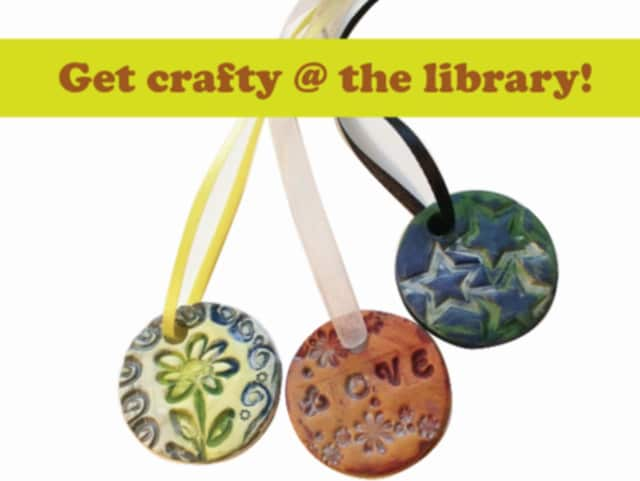 The Edith Wheeler Memorial Library is hosting a pendant workshop for teens April 6.