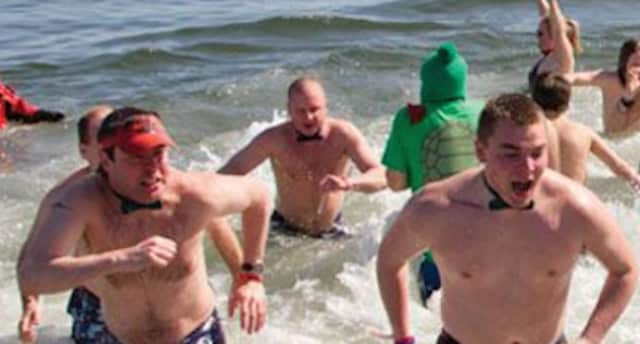 Newtown Police will take part in a penguin plunge for Special Olympics in Westport March 25.