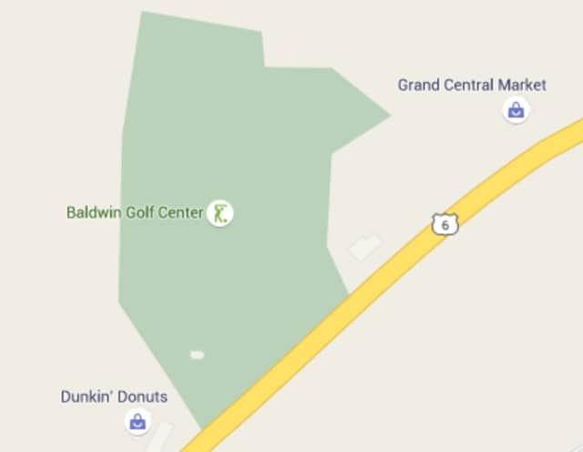 A mixed-use development is proposed for a site now occupied by a golf driving range on Route 6 in Baldwin Place.