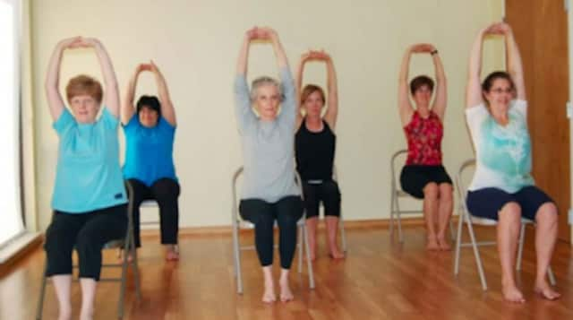 Temple Shaaray Tefila will host a chair yoga class to exercise the body and soul.