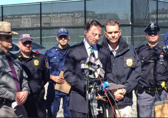 Westchester County Executive Rob Astorino said all efforts are being made to locate the missing crewman as soon as possible.