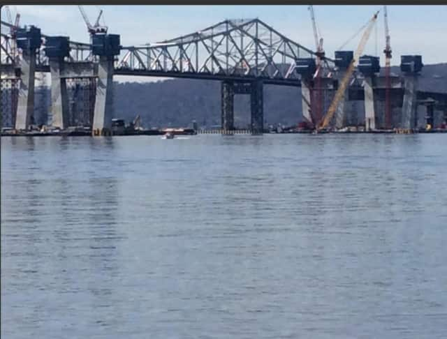 The tugboat in Saturday's crash, which was not involved with the new TZB construction projected, was escorting a barge with a crane and two other tugboats and traveling south toward Jersey City at the time of the accident.