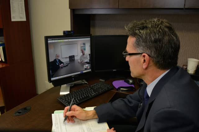 Thanks to Westchester Medical Center's eHealth system, patients are able to have follow-up appointments in real time with doctors based outside the hospital.