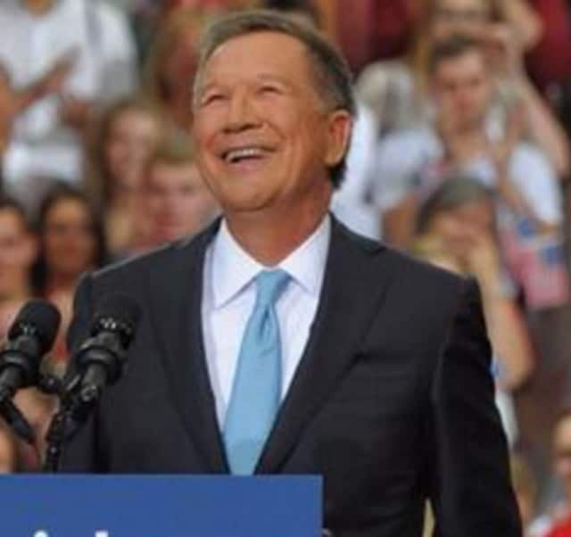John Kasich is headed to Rockland.