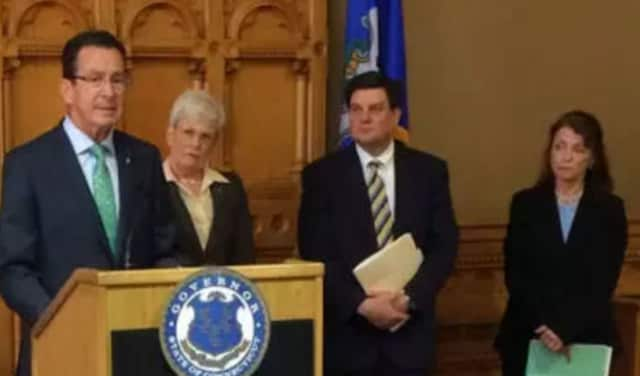 Gov. Dannel Malloy names Michael Bzdyra as the new commissioner of the Connecticut Department of Motor Vehicles.