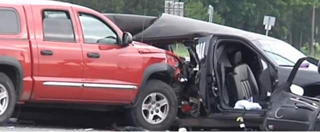The accident occurred when a pickup truck collided with a limousine in which the women, who were visiting wineries in Suffolk County's North Fork, were passengers.