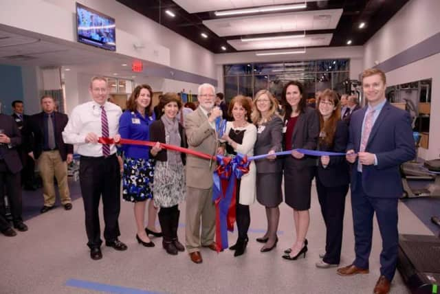The Hospital for Special Surgery Sports Rehab officially opened at Chelsea Piers Connecticut in Stamford earlier this month. See story for photo IDs.