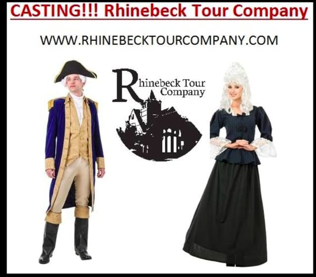 Presidential personalities are wanted by the Rhinebeck Tour Company to work as weekend tour guides.