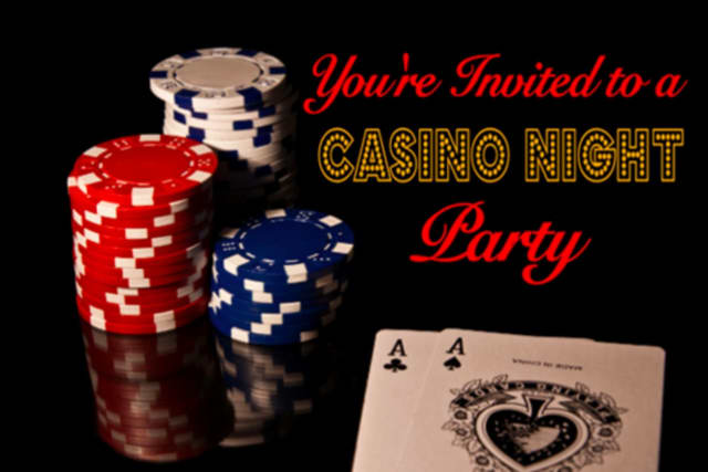 A Casino Night will be held in White Plains on Saturday, April 9, to benefit the White Plains YMCA and the White Plains Performing Arts Center.