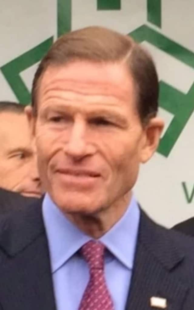 U.S. Sen. Richard Blumenthal's Hartford office received a threatening call March 9.