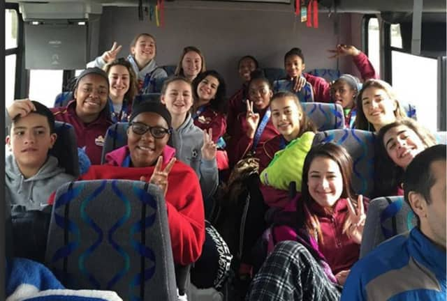Ossining's bus rides back from the state tournament and Federation championship have both been filled with plenty of smiles.