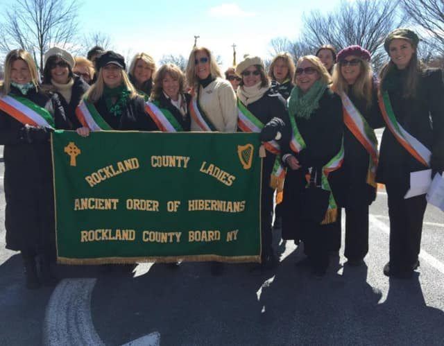 A photo from last year's Rockland AOH St. Patrick's Day Parade.