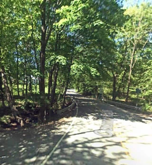 North Quaker Hill Road in Pawling.