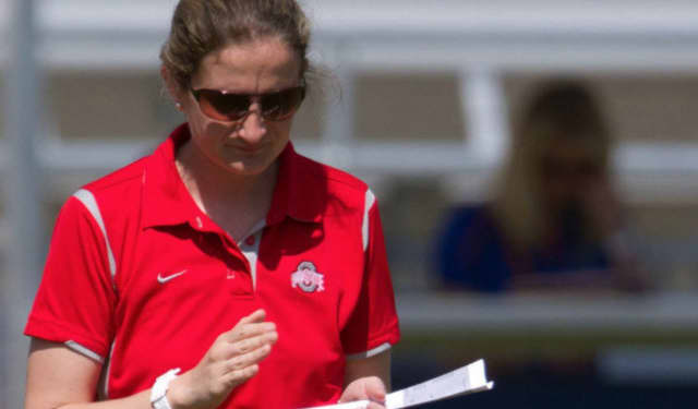 Former Yorktown star Alexis Venechanos is now head coach of the women's lacrosse team at Ohio State.