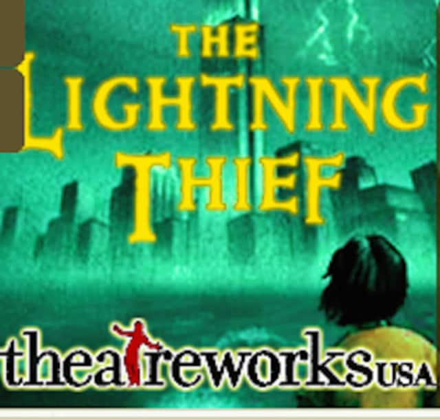 "The Friends of Greenwich Library will present a Theatreworks production of ""The Lightning Thief,"" adapted from the book by Rick Riordan, on Saturday, April 2 at 2 p.m."