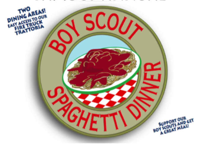Boy Scout Troop 15 is hosting its annual spaghetti dinner April 30