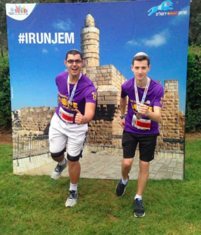 Frisch runners raised more than $30,000 for SHALVA.