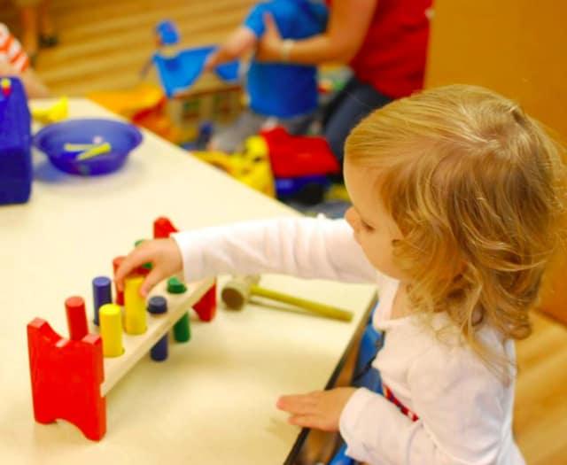 Community Nursery School of Wilton has an open house on April 2.