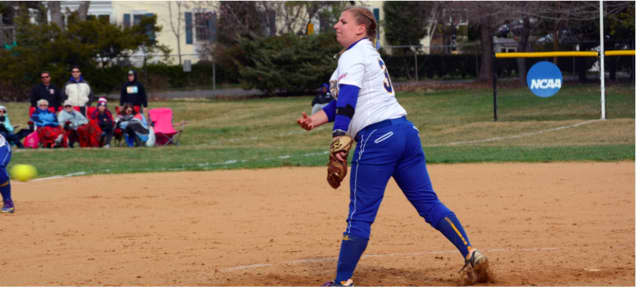 Sarah Ross, a sophomore at Concordia College in Bronxville, has been named the Central Atlantic Collegiate Conference Pitcher of the Week in softball.