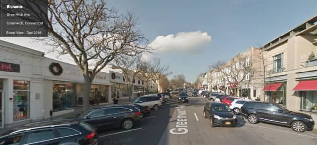 A New York City man was charged with stealing a sweater from Richard's on Greenwich Avenue in Greenwich.