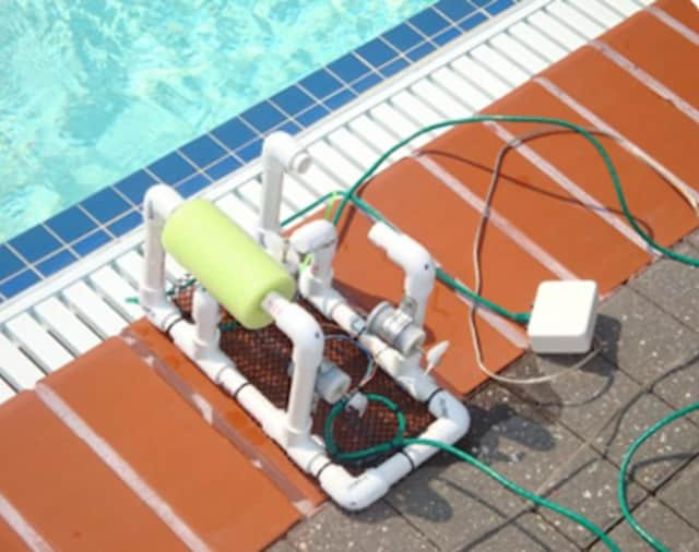Through SeaPerch, an underwater robot, high school students can learn robotic and cybersecurity basics thanks to Pace's summer program.