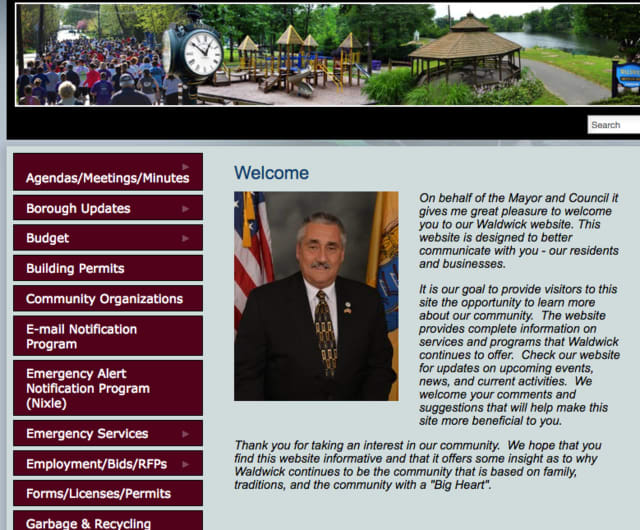 Visit waldwicknj.org to see the borough's new website.