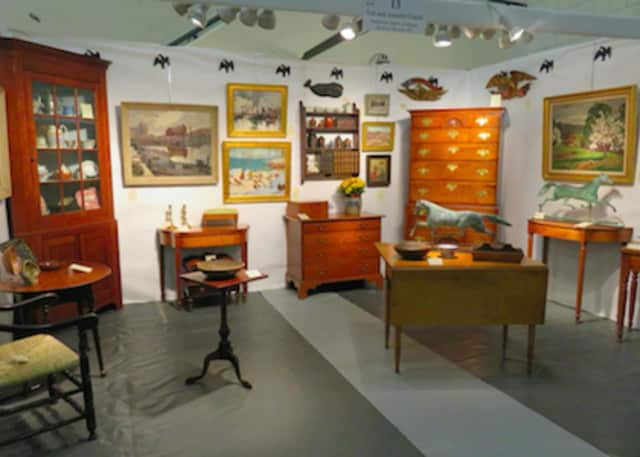 Wilton Spring Antiques Show will open its doors on Saturday, April 16 and Sunday April 17