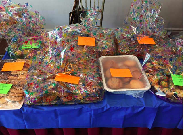 The Jewish Community Center of Harrison held its annual Mitzvah Day on Sunday, April 3, and took part in many service projects, one of which included delivering homemade treats to local organizations that normally help the JCC.