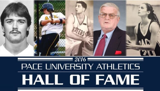 Pace Athletics will welcome five new members into the Athletics Hall of Fame.
