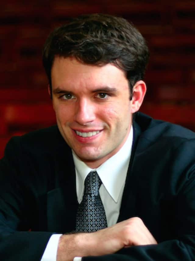 Pianist Ben Laude will perform at the Danbury Music Centre on April 23.